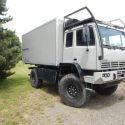 Wohnkabinen / Offroad-LKW - Aufbau: Steyr 12m18 Excap