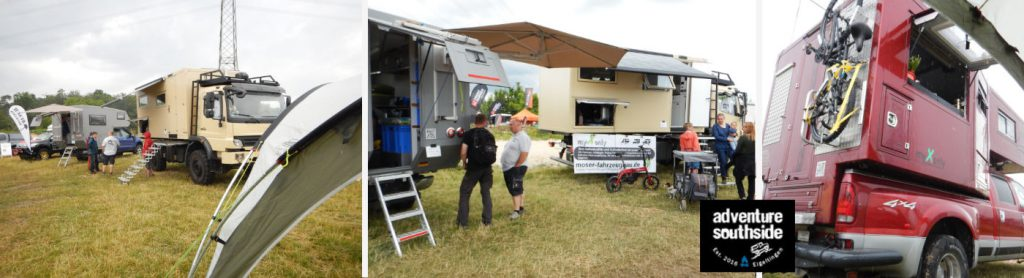 Messestand auf der Adventure Southside 2019 in Eigeltingen