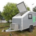 Offroad-Caravan X-Indoor / Produkt: Offroad-Wohnkabine auf Einachser-Fahrgestell / Modell Small