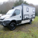 Wohnkabinen / Offroad-LKW - Basis: Iveco Daily 4x4 mit Automatikgetriebe