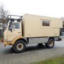 Wohnkabinen / Offroad-LKW - Leerkabine: Mercedes 1222 Allrad - Ehemaliges Feuerwehrauto
