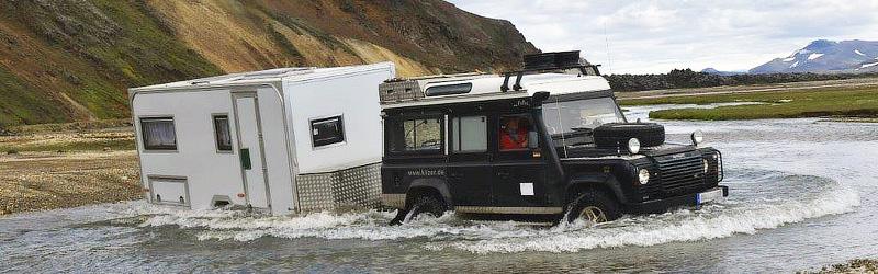 Moser Fahrzeugbau / Offroad-Caravan in Island - Intro Offroad-Wohnanhänger
