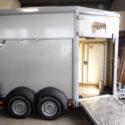 Verkaufsfahrzeuge – Verkaufsmobile: Pferdeanhänger mit Verkaufsklappe für Foodtruck - Essen und Trinken