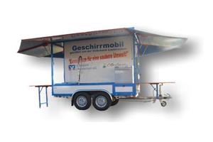 Geschirrspül-Anhänger 1 (Spülanhänger)