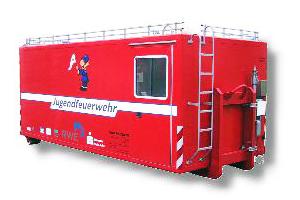 Feuerwehrcontainer