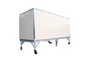 Container zur Präsentation