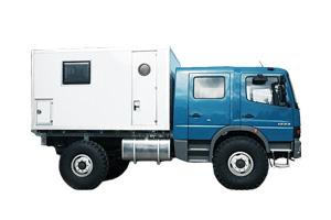 Mercedes Atego 1222 4x4 (Allrad)
