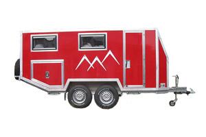 Offroad-Caravan 1 (Tandem-Wohnanhänger)