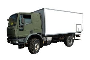 Kabine IVECO Eurocargo 4x4 (Allrad)