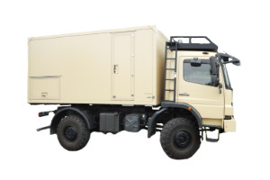 Wohnkabinen / Offroad-LKW - Basis: Mercedes Atego 1018
