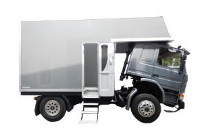 Wohnkabinen / Offroad-LKW - Basis: Scania 93M 220