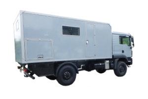 Wohnkabinen / Offroad-LKW - Aufbau: MAN TGM 13.290 4x4